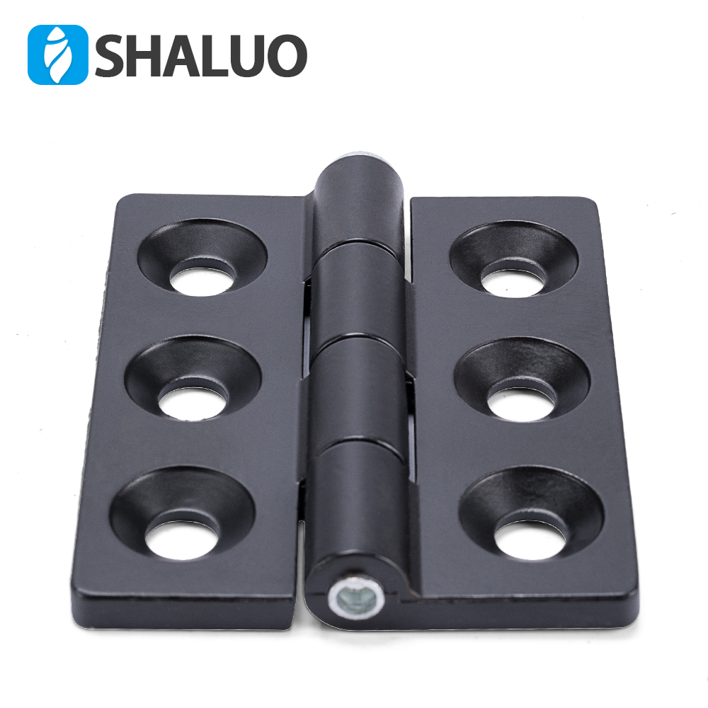 6 Holes Generator gate hinges For Sound Proof Genset 5mm Thickness