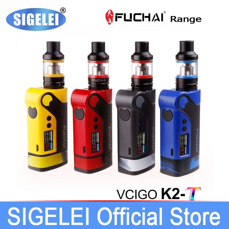 Original SIGELEI FuChai range fuchai Vcigo K2 / K2-T kit E e