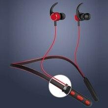 цена на Neckband Earphones Headset With Mic  Bluetooth 5.0 Earphone Wireless Headphones Sports Stereo Bass In-Ear Earbuds For Phone