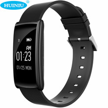 Huiniu N108 Bluetooth Smart Band Водонепроницаемый будильник шагомер сердечного ритма трекер сна трекер smartband для IOS Android