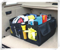 Car Back Folding Storage Box Multi Use Tools Organizer Portable for opel astra j bmw f10 golf 5 6 audi a4 b8 suzuki swift golf 7
