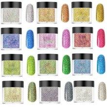 10ml/box Dip Powder 24 Colors Dipping Powder Nails System 1box*10ml Acrylic Nail Dip Dipping Powder For Nail Powder Glitter#FA46 цена