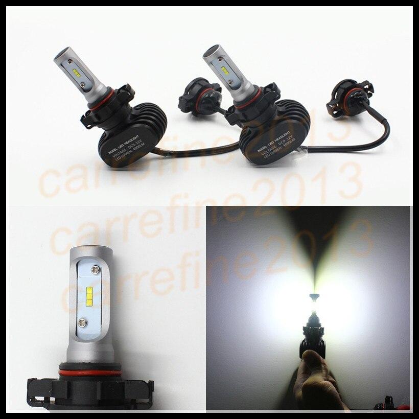 50w h16 5202 LED Bulbs For Cars auto motorcycle car LED Headlight Kits 5202 H16 Car Auto LED Head Light Bulb H16 LED Headlights