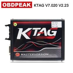 Ue Ktag 7.020 z 4 LED V2.23 czerwony PCB pokładzie mistrz wersja narzędzi do programowania ECU 100% nie tokena ograniczeń podmiotu odpowiedzialnego za utrzymanie programista