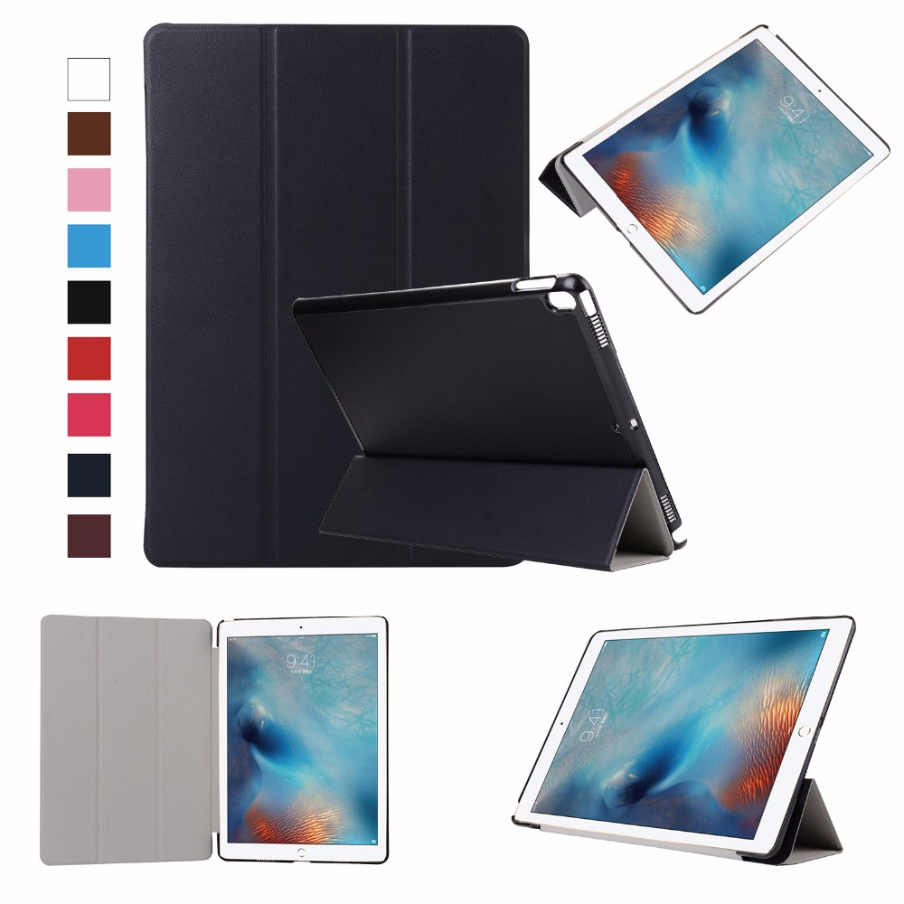 все цены на 2017 PU Leather Smart Folding Stand Case for New IPad Pro 10.5