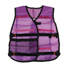 Tactical Waistcoat Magazine Ammo Holder Kit Game Guns Accessories Toys for N-Strike Elite Series Bullets Gifts Kids Toy