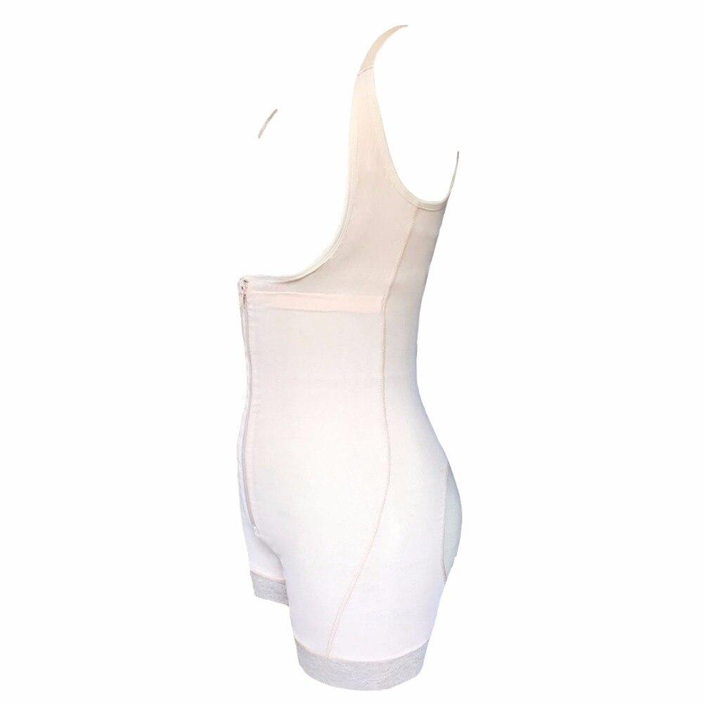 Taille Trainer Bodysuit Afslanken Ondergoed Korsetten Shapers Body Shaper Sjerpen Shapewear Ondergoed Bodysuit Controle Broek - 4