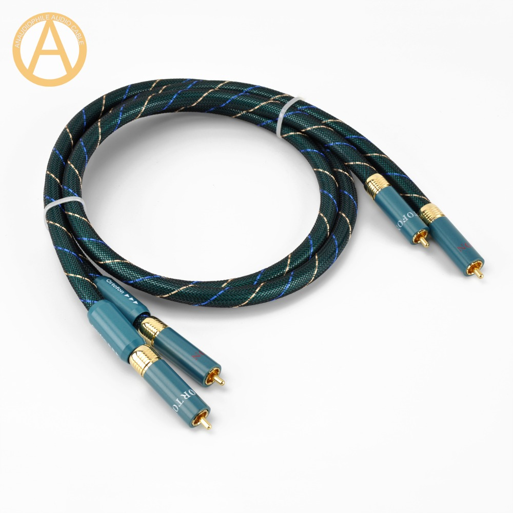 HIFI ORTOFON RCA Cable 2RCA Audio Interconnect Cable Ortofon 8NX Male To Male RCA Audio Cable