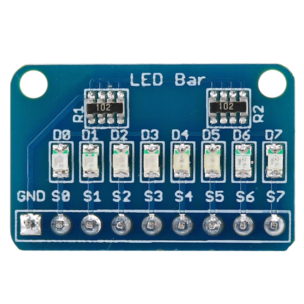 OPEN-SMART Common Cathode 8 Bit 8 LED Bar Marquee LED Display Module W/ 4 Kinds Of Color For Arduino Nano /Pro Mini /UNO R3