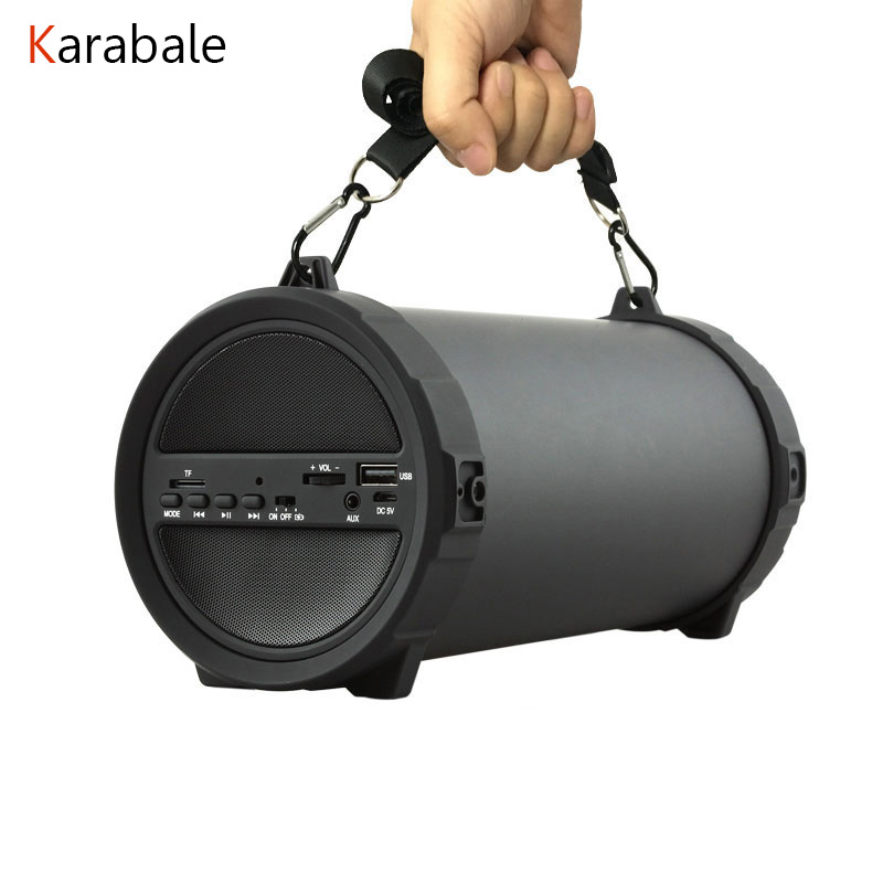 Music Speakers Bike Radio Fm Portable Subwoofer Big-Bass Mp3-Player Outdoor Wireless