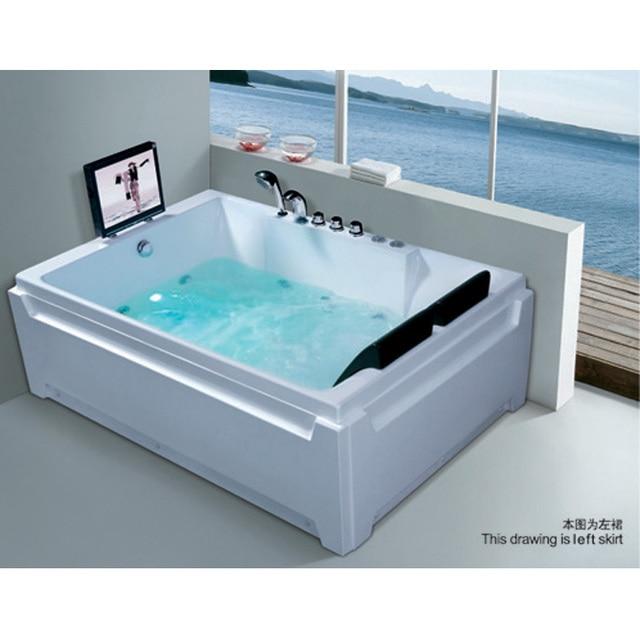 freestanding bathtub Hanbeisha acrylic massage bathtub,hot tubs,bath ...
