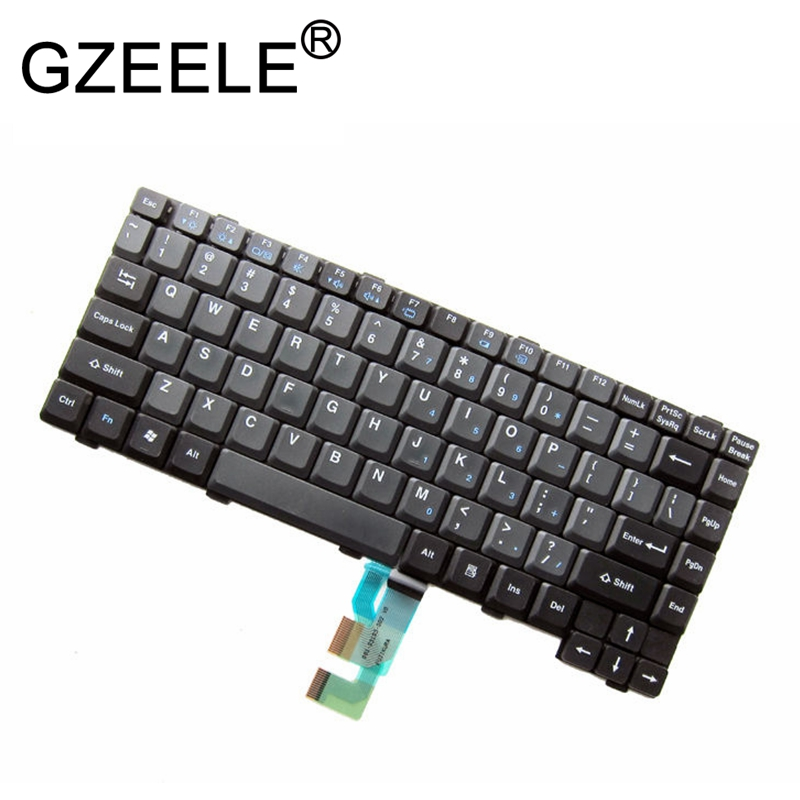 GZEELE US keyboard for Panasonic Toughbook CF-Series CF-27 CF-28 CF-29 CF-30 CF-31 CF-52 CF-53 CF-73 CF-74 MP-03103USD8145 BLACK цена