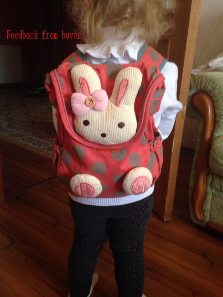 bolsa de escola bonito 3d Main Material : Cotton Fabric