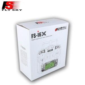 Image 3 - Flysky transmisor controlador para Dron de control remoto, dispositivo transmisor controlador de 10CH con receptor A8S, actualización i6 para helicóptero de radiocontrol, FS i6X FS I6X 2,4G