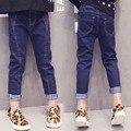 Baby Girl Jeans Spring Skinny Jeans for Girl Long Pant Fashion Denim Trouser Children Jeans For K