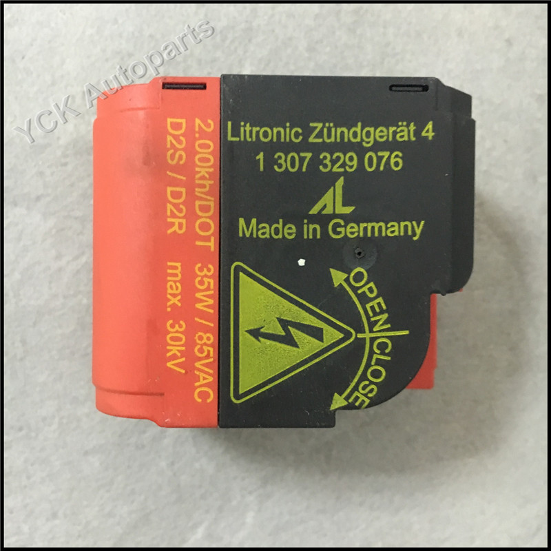 1PC Original Igniter Ignitor Xenon Headlight Igniter Ignitor HID D2S D2R Socket 1 307 329 076 1307329076 (Genuine and Used)