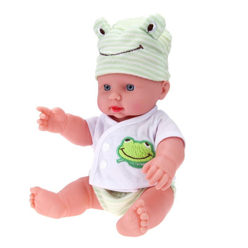 30 см Reborn Baby Doll мягкого ПВХ реалистичные жив новорожденных игрушка новорожденный кукла Рождество подарок на день рождения ребенка спальный ... ...