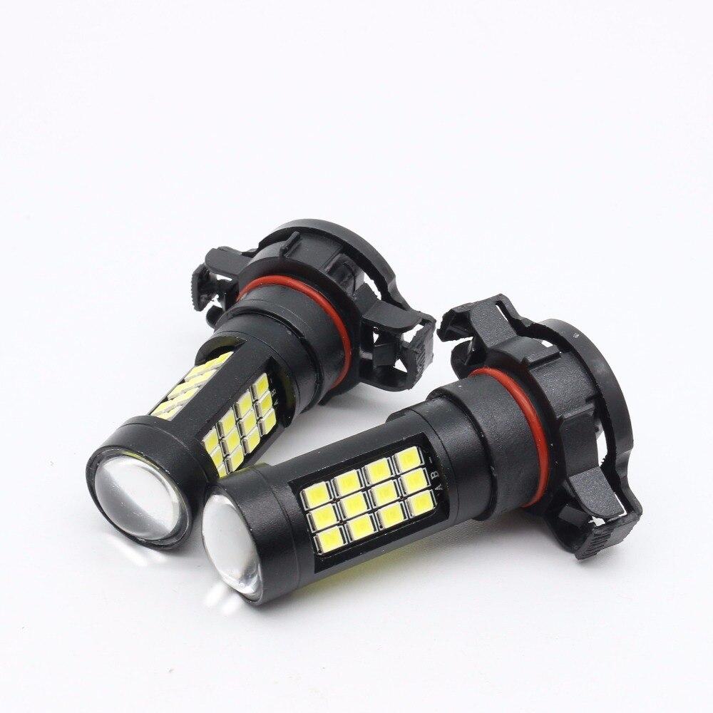 2X 9005 9006 H11 H16 P13W bombilla led de alta potencia 2835 42 SMD - Luces del coche