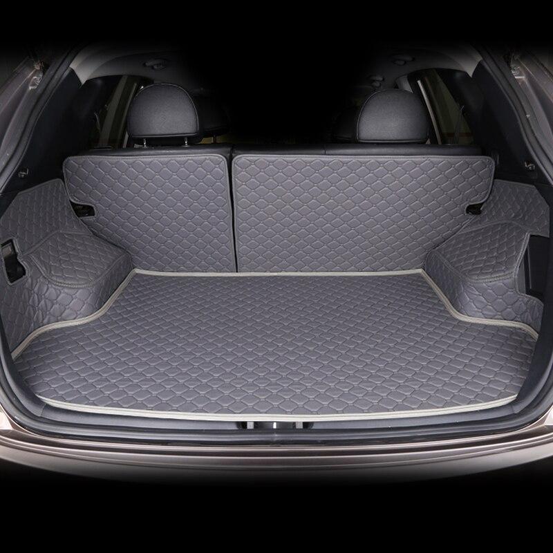 Custom Car Trunk Mat for For MG all model mg3 mg5 mg6 mg7 mg3sw Ruiteng GT ZT ZR TF car mat car accessories car trunk pad