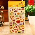 Lanches partido perspectiva bolha adesivos diário adesivos decorativos Decoração Para Notebook Cartão Scrapbook Papers