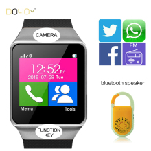 SmartWatch DZ09 Android Bluetooth Smart Watch Pour IOS Apple Samsung Téléphone Portable Smart Watch Mobile iPhone 6 Syn SIM carte