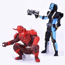 2 Stks/partij Nieuwe Japanse Anime Masked Rider Figuren Originele Kamen Rider Action Figure Monteren Twisted Ei Poppen Jongen Speelgoed