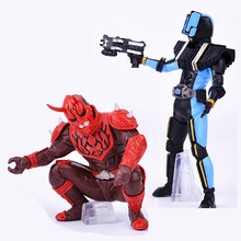 2pcs/lot New Japanese anime Masked Rider figures original Kamen Rider action figure Assemble twisted egg dolls boy toys