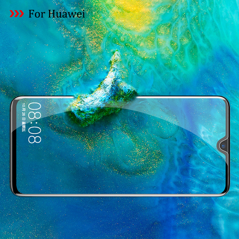 9D For Huewei P Smart Plus 2019 Mast 20 Lite Pro Tempered Glass On The For Huawei Psmart Plus Mate20 Film Cover Screen Protector(China)