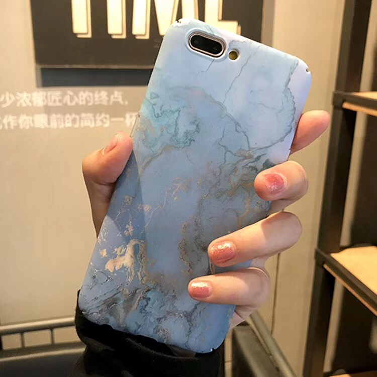 For OPPO A83 Pink Blue Marble Ocean Sea Plastic Hard PC Case for OPPO A1 Ultra Thin Elegant Case for OPPO F5 A79 A73 F1S F3 Plus