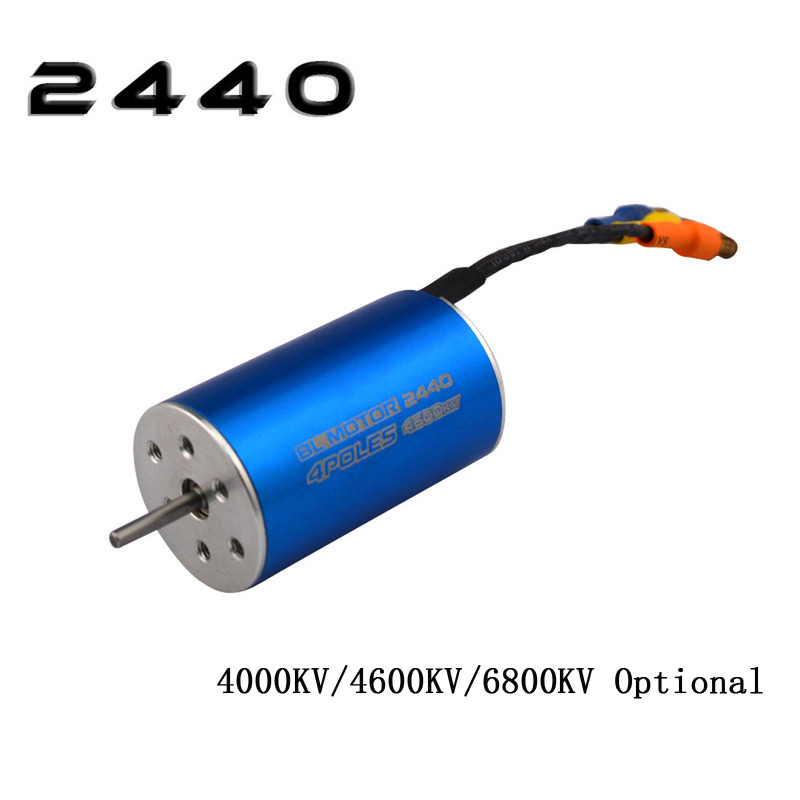 2440 4000KV/4600KV/6800KV Brushless Sensorless motor for 1/16 1/14 RC Truck Monster Off-road Car2440 4000KV/4600KV/6800KV Brushless Sensorless motor for 1/16 1/14 RC Truck Monster Off-road Car