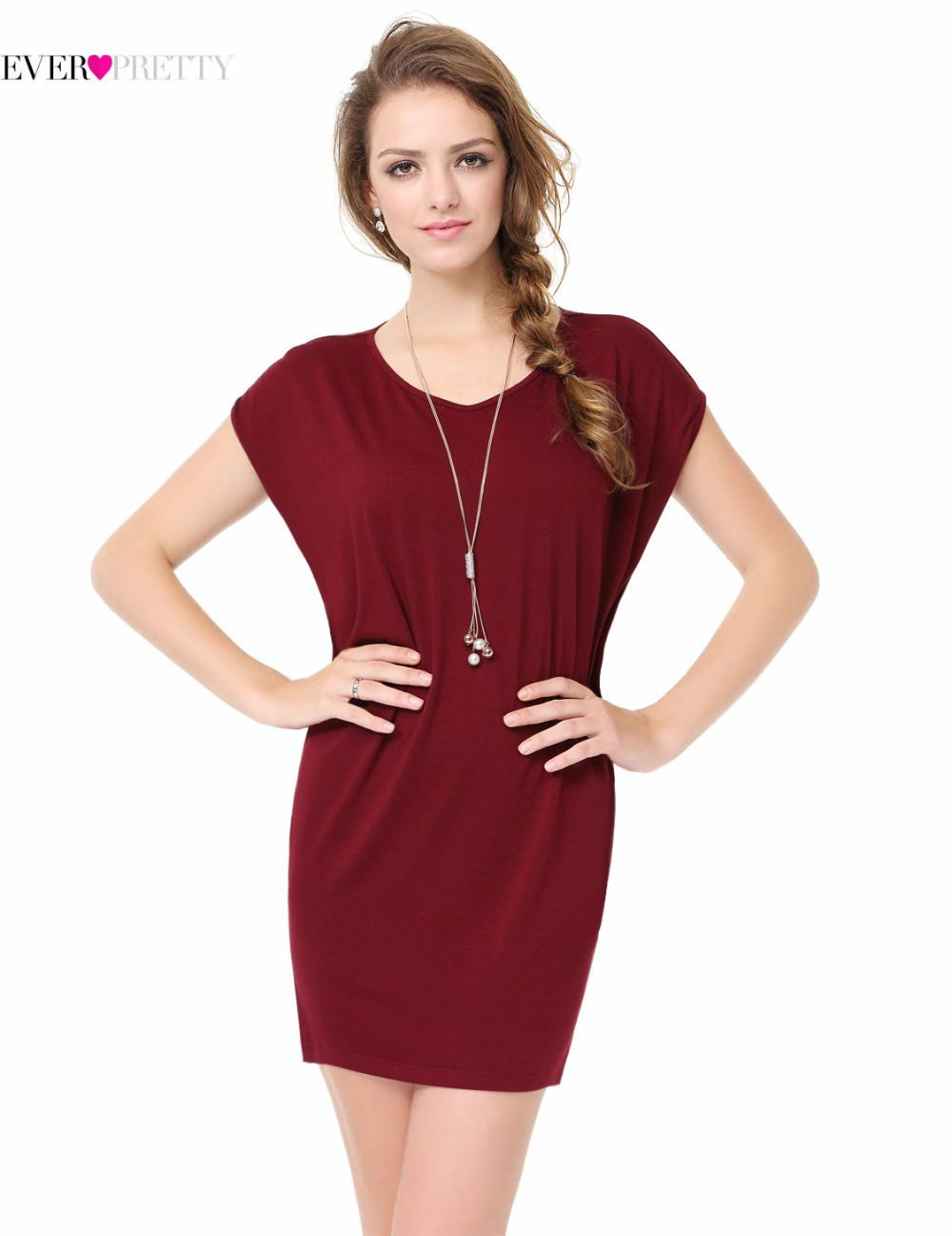 Clearance sale simple fashion cocktail dresses ever pretty clearance sale simple fashion cocktail dresses ever pretty xx90010pab round neck loose and comfy burgundy straight dresses in cocktail dresses from ombrellifo Choice Image
