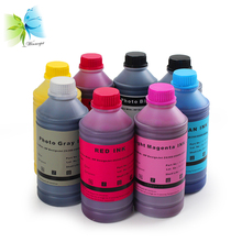 все цены на WINNERJET 1000ml/bottle 8 Colors Pigment Ink Refill For HP 771 Designjet Z6200 Z6600 Z6800 Printer онлайн