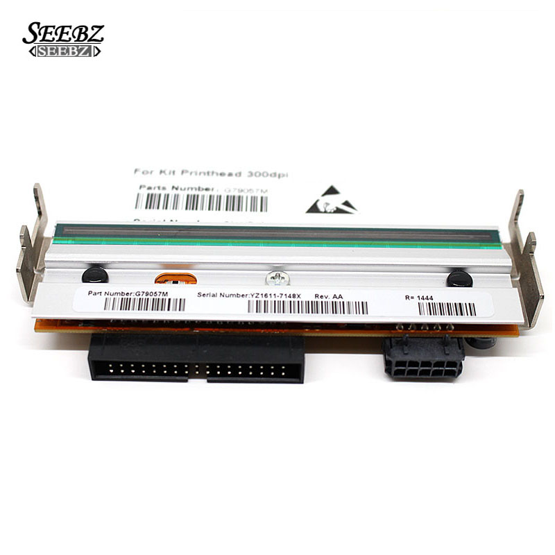 Zebra S4M 300dpi Printer head For Zebra S4M printhead Thermal BarCode Printer Part Number G41401M print head new original for zebra s400 200dpi thermal barcode label printer printer part printing accessories printhead 44999m