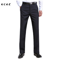 Young White Korean Version Of The Straight Suit Pants Men Summer Thin Section Of Wild Casual