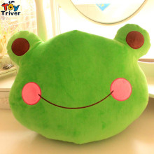 32X40cm Kawaii Plush Green Frog Toy Cushion Pillow Stuffed Doll Kids Toys Birthday Christmas Gift Home Shop Decor Etsy Triver