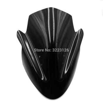 Motorcycle Windshield WindScreen Windproof Screen Front Glass for Kawasaki ER6N ER-6N 2012 2013 2014 2015 2016