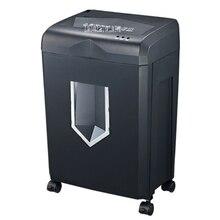 318 220V/50hz cross-cut paper / credit card shredder draw-out 18 liter basket overload capability protect Shredder 150W Power