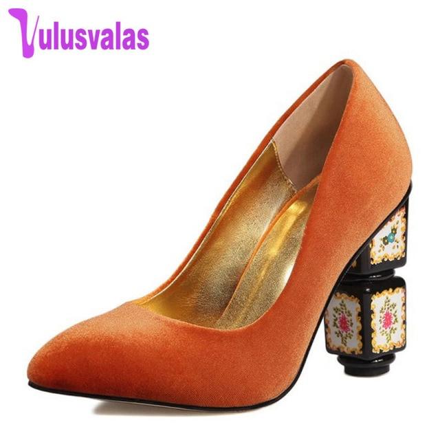 High Heel Shoes 49Off Footwears 34 Us49 Women In 98 Leather 5 vulusvalas Pointed Heels Party Toe Alien Pumps Size Colors Sexy Genuine 43 FJ3K1cTl