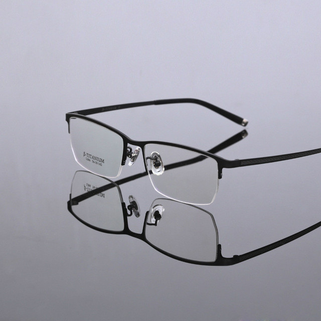 2016 de La Moda marcos de anteojos hombres gafas de equipo gafas de Titanio puro marco óptico gafas de grau gafas tg066