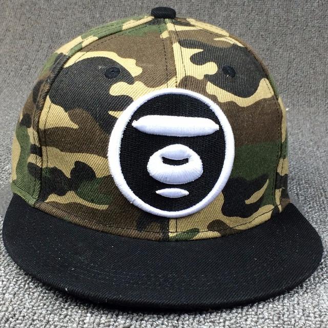 Marca snapback caps boné de beisebol planas Plana Hip Hop gorra para mulheres homens carta colorido chapéus esporte tampas de Camuflagem micai1