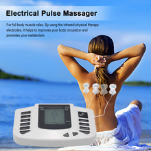 Electrical Stimulator Full Body Relax Muscle Therapy Massager Pulse Tens Acupuncture With 4 Electrode Pads Health Care Massage