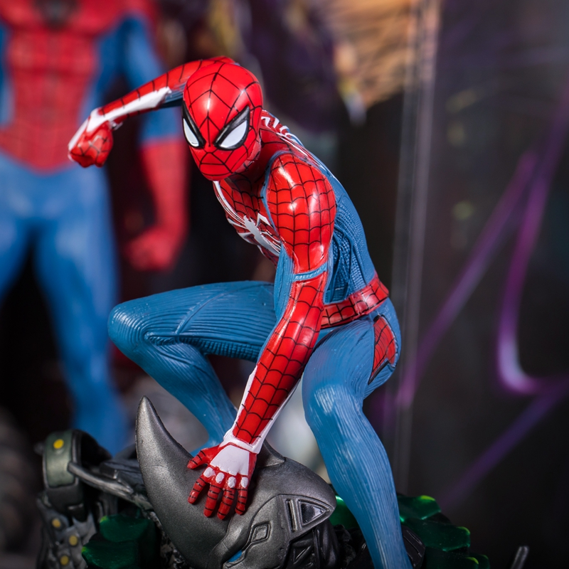 PS4 Spider-Man Collectors Edition Figure 19cm PVC Statue Boxed