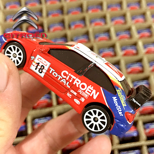 Majorette 1/57 Scale Car Toys France Citroen XSARA WRC Diecast Metal Car Model Toy For Gift/Kids/Collection/Decoration