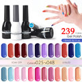 Organic Gel Lacquer 15ml CANNI 239 Colors Nail Art Design 62507 Salon Spa Soak Off UV LED Gel Varnish Nail Gel Polish 025-048
