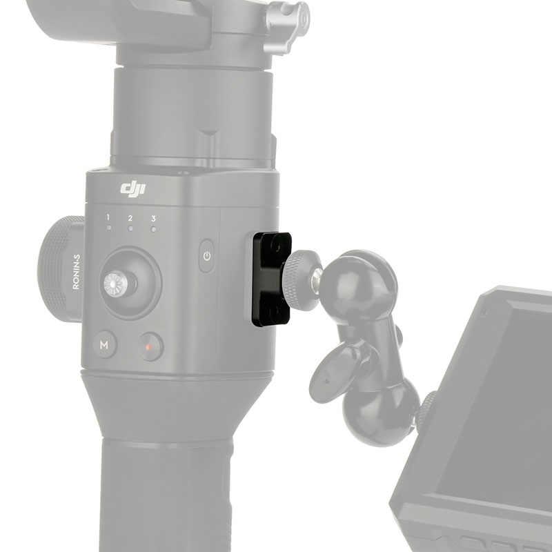 Монтажная пластина для видеомонитора для Dji Ronin S Сменное крепление M4 to1/4 винтовой адаптер удлиняющий порт для монитора Magic Arm VS SmallRig