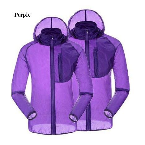 Lightweight Breathable Cycling Rain Jacket Raincoat Waterproof ...