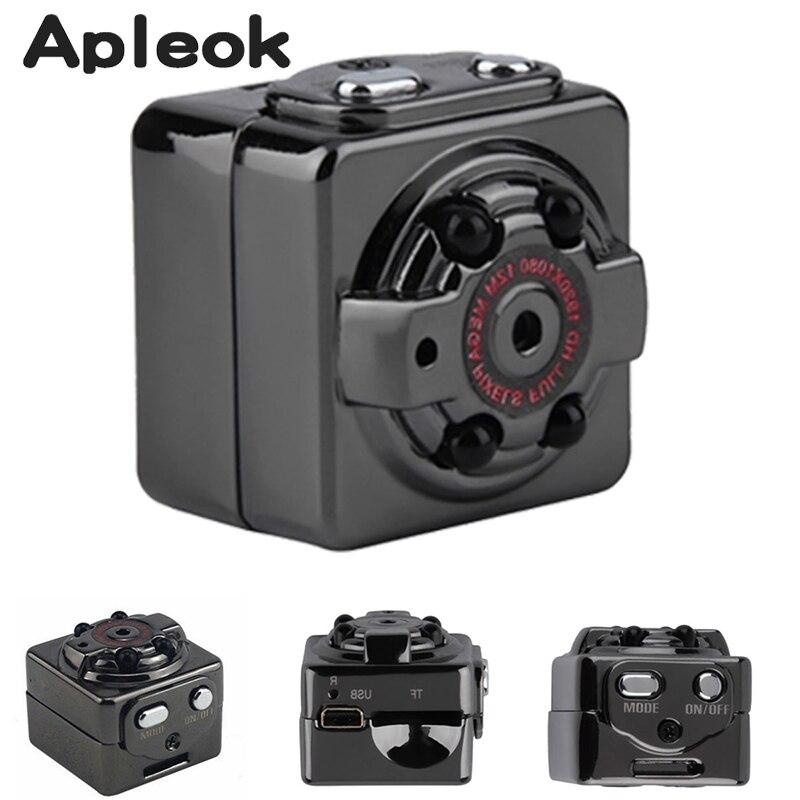Unterstützung 32g TF Karte SQ8 Mini DV Kamera 720 p 1080 p HD Kamera Audio Video Recorder Infrarot Nacht vision Digital Sport Camcorder