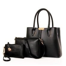 3 Satz Handtasche frauen Handtaschen Set Tasche Damen Schulter Crossbody Taschen Bolsa Feminina Designer frauen Geldbörse N223