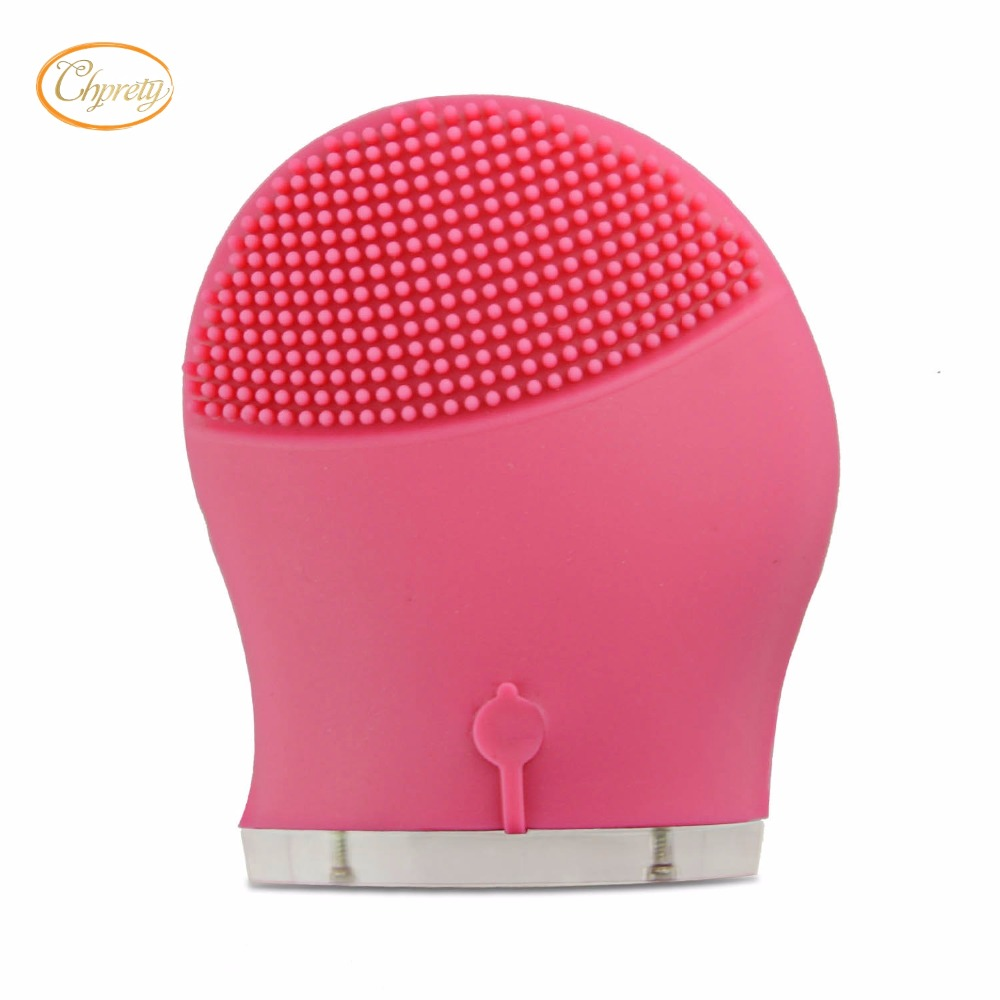 Face Skin Care Electric Vibrate Facial cleansing Brush Wash Machine Rechargable Soft Silicone Acne Cleanser Massager Waterproof anti acne pigment removal photon led light therapy facial beauty salon skin care treatment massager machine