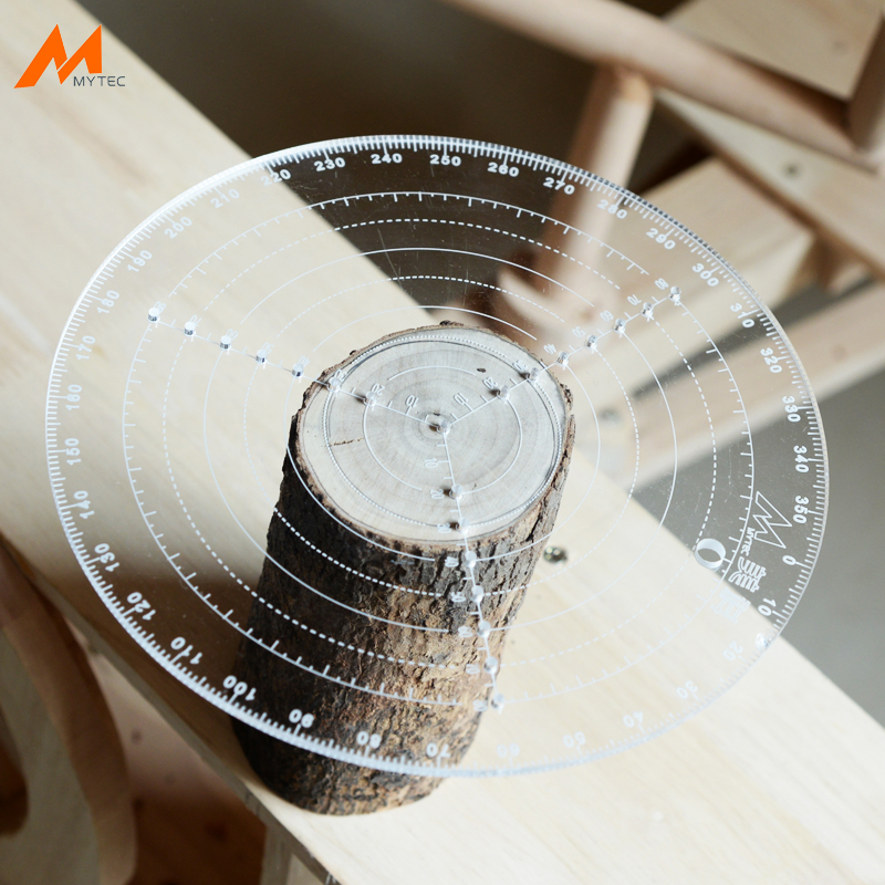 Marking Center Finder Tool Woodworking Compass For Woodturners Bowls Lathe Clear Acrylic Drawing Circles Diameter 200MM 300MM